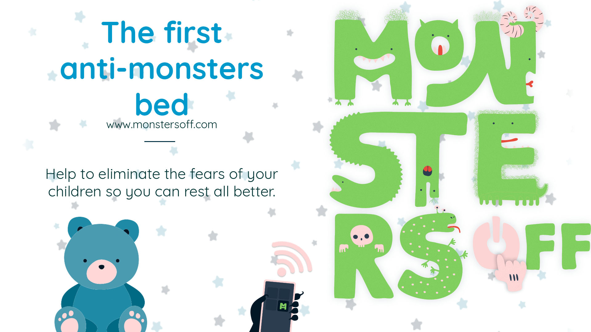 The first anti-monsters bed